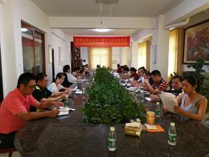 蒙晓灵主委出席龙华总支学习调研活动