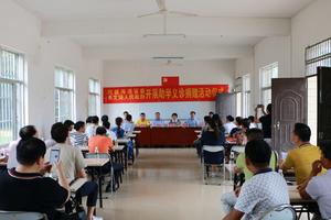 民建海南省委组织开展助学、义诊扶贫活动